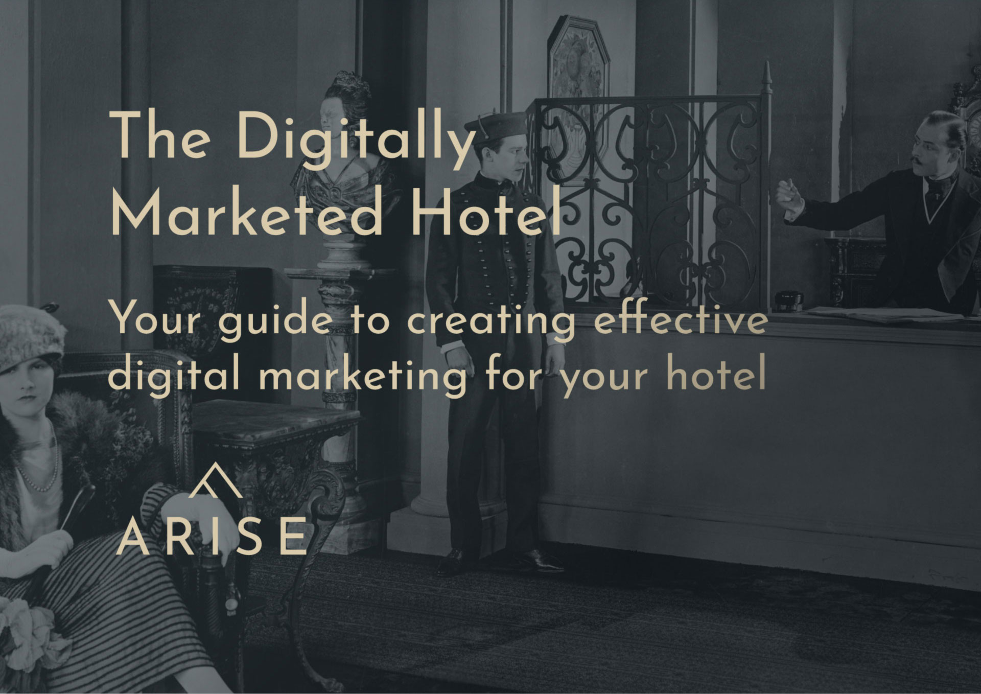 The Digitally Marketed Hotel - Your guide to creating effective digital marketing for your hotel. Request your FREE copy.